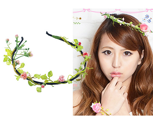 Secret garden_Hairband